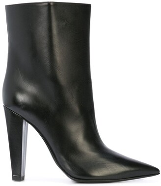 Poiret pointed toe ankle boots