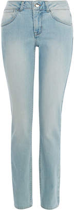 Karen Millen High-Waisted Blue Jeans
