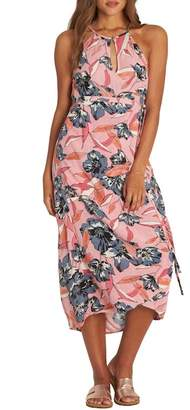 Billabong Aloha Babe Midi Wrap Dress