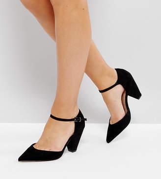 Asos Design DESIGN Wide Fit Speaker pointed heels