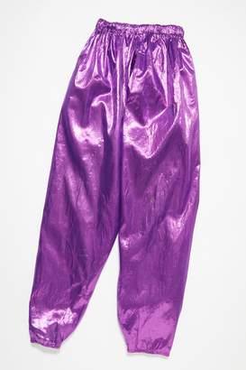 Vintage Loves Vintage 1980s metallic Track Pants