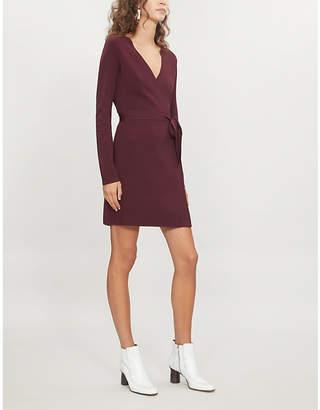 Diane von Furstenberg V-neck stretch-knit wrap dress