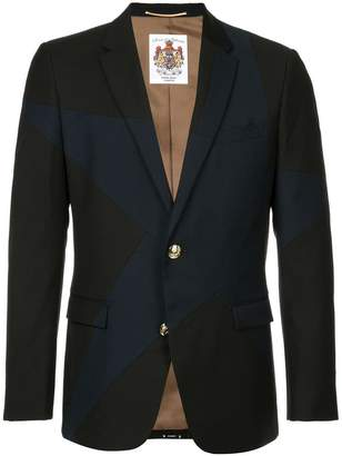 Education From Youngmachines star embellished blazer