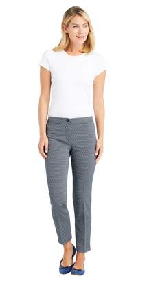 J.Mclaughlin Cosmo Ankle Pants in Diamond Jacquard
