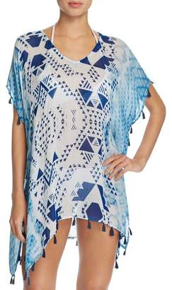 Surf Gypsy Aztec Tassel Tunic Swim Cover-Up