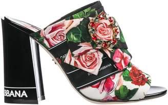 8fabeaf38d6 Dolce Gabbana Rose Heels - ShopStyle
