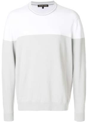 Michael Kors colour block sweatshirt