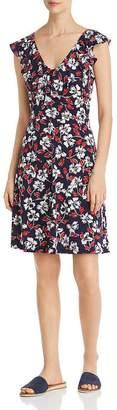Leota V-Neck Floral-Print Dress