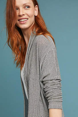 Anthropologie Marion Striped Cardigan