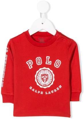 Ralph Lauren Kids varsity print sweatshirt