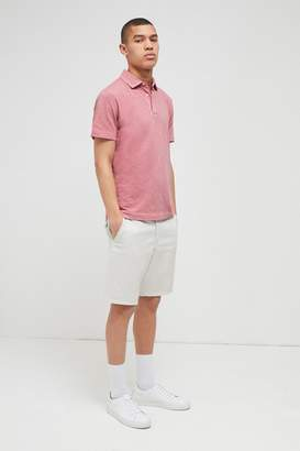 French Connenction Multi Slub Polo Shirt