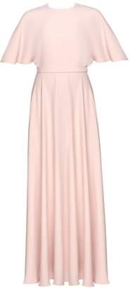Undress Soula Pastel Pink Butterfly Sleeve Maxi Dress