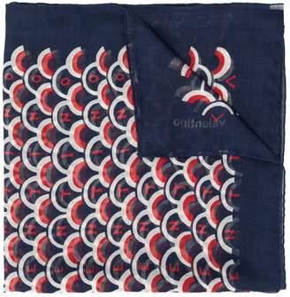 Valentino scalloped print scarf