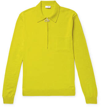 Cmmn Swdn Curtis Merino Wool Half-Zip Sweater