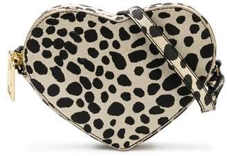 Little Marc Jacobs leopard print heart shoulder bag