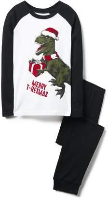 Crazy 8 Crazy8 Merry T-Rexmas 2-Piece Pajama Set