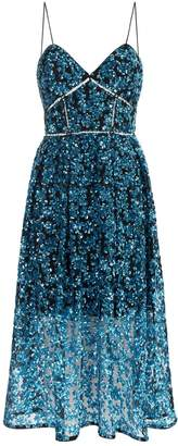 Self-Portrait Self Portrait Azaelea Sequin Midi Dress