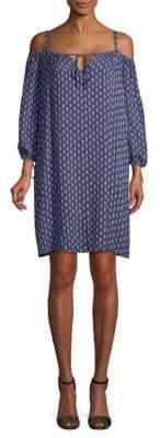 Velvet by Graham & Spencer Genna Cold-Shoulder Knee-Length Dress