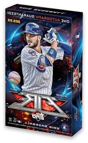 MLB 2018 Topps MLB Fire Baseball Trading Card Hobby Box