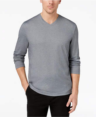 Tasso Elba Men's Supima Blend Knit V-Neck T-Shirt, Created for Macy's