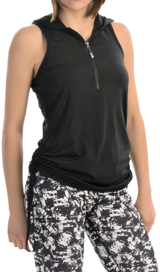 MSP by Miraclesuit Hooded Tank Top - Zip Neck (For Women)
