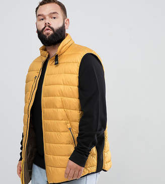 North 56.4 Quilted Vest Tank In Mustard