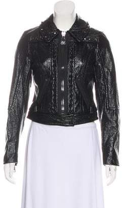 Tracy Reese Studded Casual Jacket