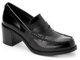 Calvin Klein Pamelyn Leather Penny Loafers