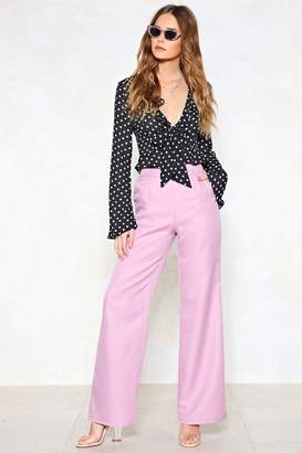 Nasty Gal Hitch a Wide Pants