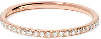 Ileana Makri - Thread 18-karat Rose Gold Diamond Eternity Ring