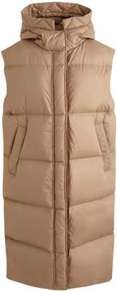 Moncler Comoe long down jacket