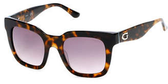 GUESS 50mm Square Sunglasses