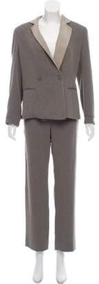 Armani Collezioni Textured Pantsuit