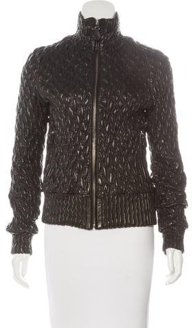 Bottega Veneta Bottega Veneta Leather Quilted Jacket