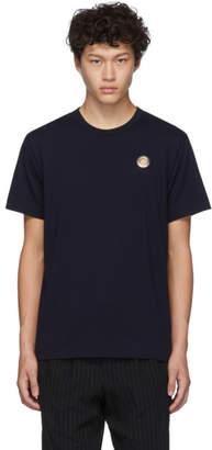 Comme des Garcons Homme Deux Navy Eyelet T-Shirt