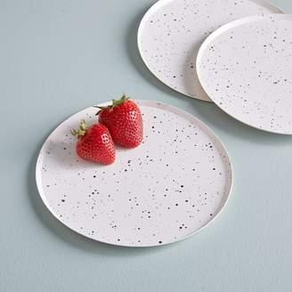 west elm Paper Salad Plates - Metallic Splatter