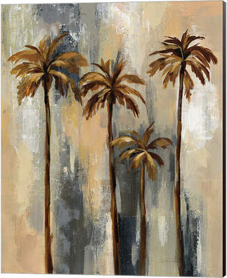 Palm Trees Ii By Silvia Vassileva Canvas Art