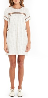 Women's Michael Stars Peasant Dress $188 thestylecure.com