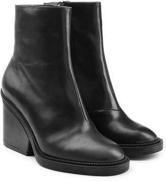 Robert Clergerie Leather Ankle Boots