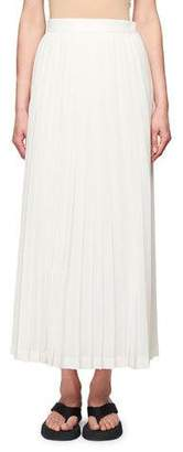 The Row Lawrence Pleated Midi Dress