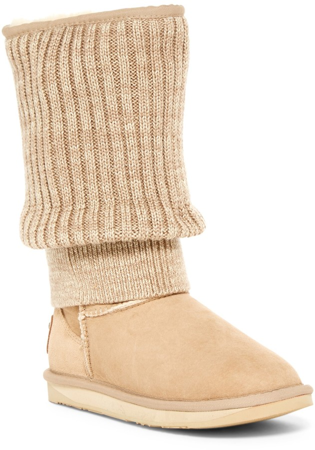 Australia Luxe CollectiveAustralia Luxe Collective Fame Tall Genuine Shearling Boot