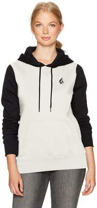 Volcom Junior's Slidin' Pullover Hoody Fleece
