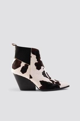 MANGO Bert Ankle Boots Brown