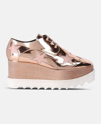 Stella McCartney copper elyse star shoes