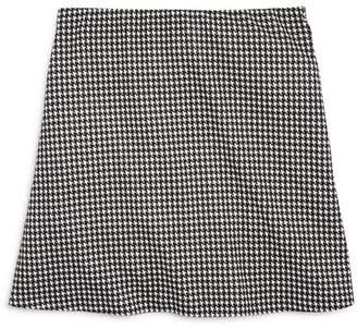 Aqua Girls' Houndstooth Skirt, Big Kid - 100% Exclusive