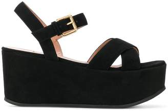 L'Autre Chose platform court sandals
