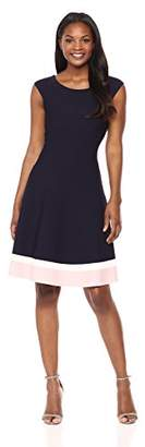 Eliza J Women's Fit and Flare Knit Dress