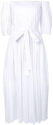 Gabriela Hearst Narciso pleated dress