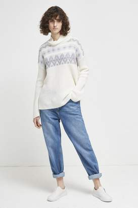 47fd8c5356d742 French Connection High Neck Knitwear For Women - ShopStyle UK