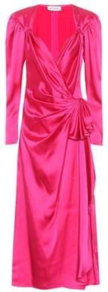 Attico Satin dress